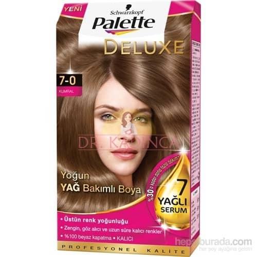 Palette Deluxe 7.0 Kumral saç boyası