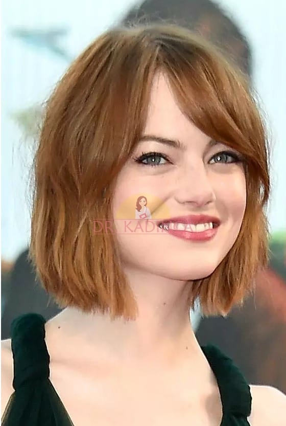 Yuvarlak Yüze Saç Modeli