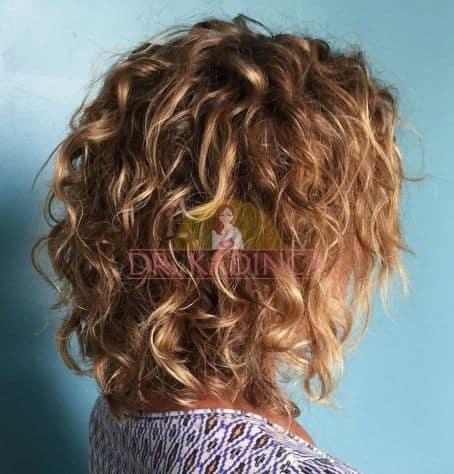 Kıvırcık Sarı Saç