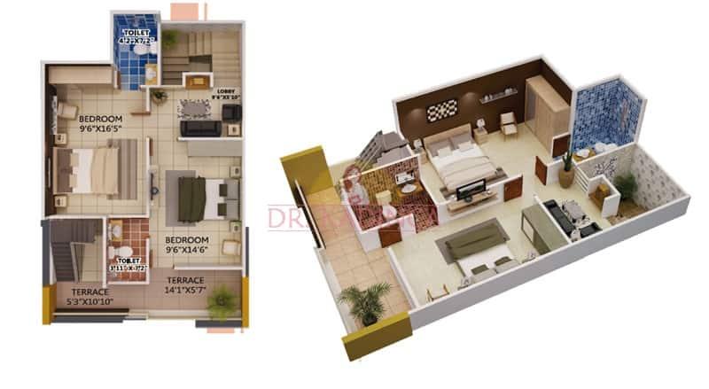 Dubleks ev planları