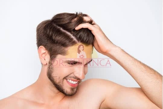 Saç kremi Kullanımı Erkek